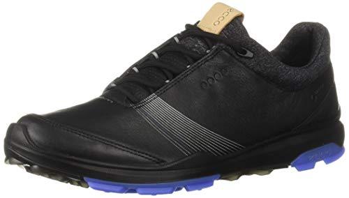 ECCO Women's Biom Hybrid 3 Gore-TEX Golf Shoe, Black, 37 M EU (6-6.5 US)