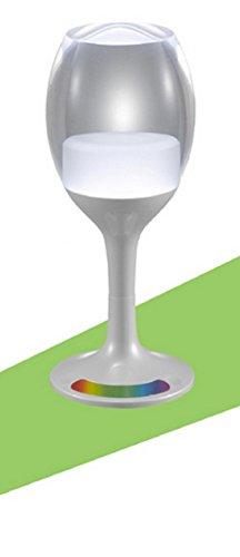 ZTYR LED Nachtlicht bunten Farbverlauf Glas Tisch Lampe KTV Bar Atmosphäre der Schlafzimmer Nachtlicht , d - Home Decor Traditionellen Tisch-lampe