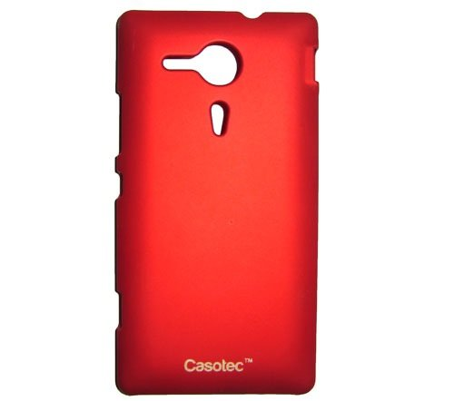 Casotec Ultra Slim Hard Shell Back Case Cover for Sony Xperia SP - Maroon Red  available at amazon for Rs.175