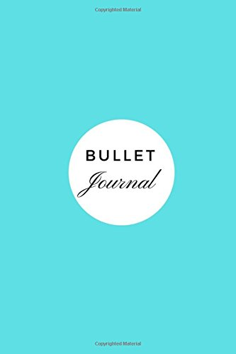 Bullet Journal: Dot Journal, Dotted Notebook, Sketchbook - (6 x 9) 150 Dotted  Pages -  Tiffany Blue Glossy Soft Durable Cover (Kate Spade Planner)