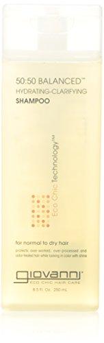 Giovanni, 50:50 équilibré Shampoing Hydratant-Clarifié, 8.5 fl oz (250 ml)