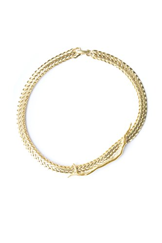 Wouters and Hendrix           FASHIONNECKLACEBRACELETANKLET Yellow Gold Plated