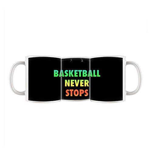 Babu Building Haben Mit Basketball Never Stops Keramik Verwenden F¨¹r Cup Children Der Eine (Masquerade Mask-stick)