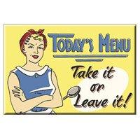 original-usa-frigorifico-magnetico-fridge-magnetico-todays-menu-decoracion