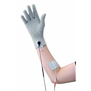 Stimulationshandschuh * TENS EMS Elektroden Handschuh * Textilelektrode * Universal-Größe