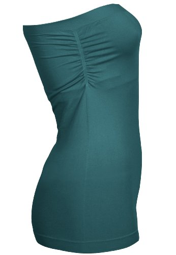 Capelli New York Tube Top 'Strapless' Blue Coral