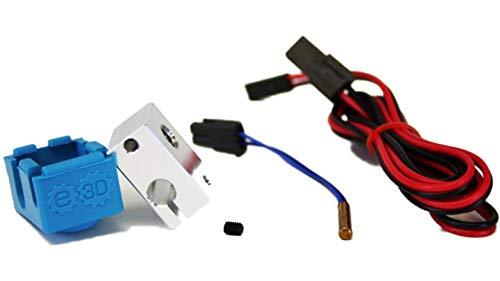 Genuine E3D V6.1Block & Sock 3D Drucker-Upgrade-Kit für Hot End Extruder Prusa i3RepRap