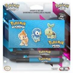 BD&A - Nintendo DS Lite: Wrap & Go Kit POKEMON Diamond Pearl Version (Pokemon Pearl Version)