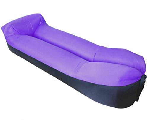SLONG Luftsofa, Air Aufblasbares, Aufblasbares Sofa Outdoor, Aufblasbare Liege, Aufblasbarer Sitzsack, Air Lounger super geeignet für Indoor im Freien beim campen oder bei Picknicks,B