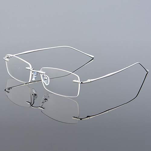 YMTP Randlose Männer Brillen Rahmen Optische Gläser Für Mann Brillen Randlose Brille