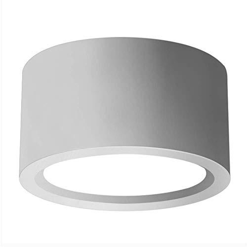 Ming Tube Lampe führte runden Tag Laterne Gang-Lampen-Korridor freie offene Loch Wohnzimmer Gehäuse kommerzielle Beleuchtung Lampe - Kommerzielle Gehäuse