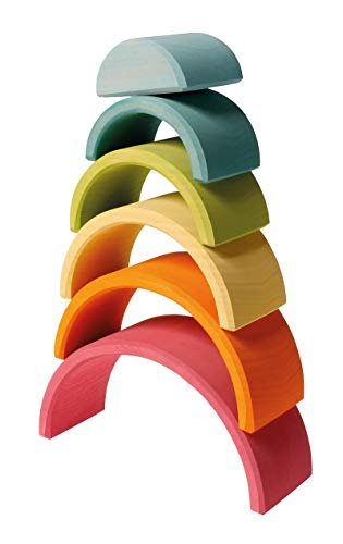 GRIMMs Regenbogen, 6-teilig, pastell - 3