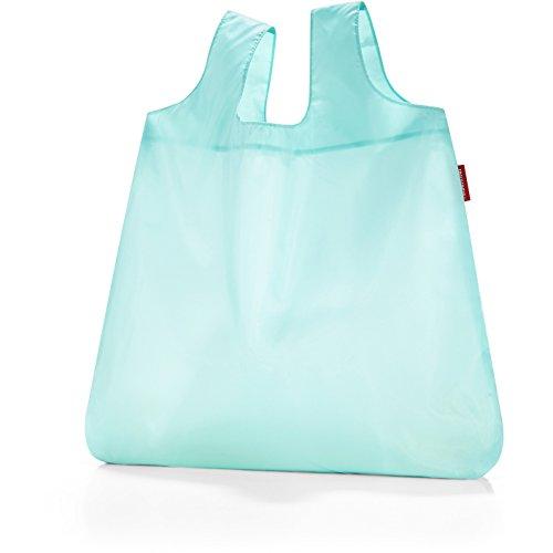 reisenthel Mini Maxi Shopper, Borsa della Spesa, per Shopping, Old Style, Aruba Blue, AO4040 pastel mint