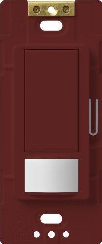 Lutron MS-VPS5M-MR Maestro 600-watt Single Pole/3-Way Vacancy Sensor Switch, Merlot, 1-Pack by Lutron -