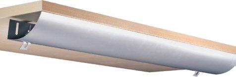 Eisnhauer® Kabelwanne abklappbar, 1160 mm lang, für Schreibtische im Büro/Home-Office gegen den Kabelsalat am Arbeitsplatz - Home Büro-schreibtisch,