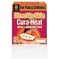 direct to skin cura -heat neck and shoulder pain - cura heat 3 heat patches 8 hour relief preisvergleich bei billige-tabletten.eu