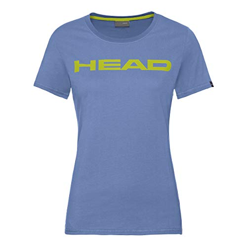 HEAD Club Lucy T-Shirt Damen himmelblau/gelb (M)