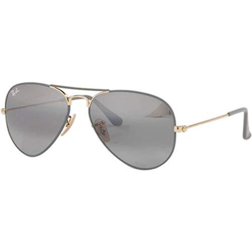 Ray-Ban Herren RB3025-9154AH-58 Sonnenbrille, Grau (Gris/Dorado), 58