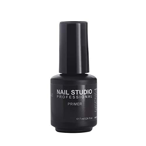Nail Studio - Smalto per Unghie Primer a Base Acida Gel Semipermanente Mani e Piedi - Migliore Adesione tra Unghia e Smalto Gel Semipermanente