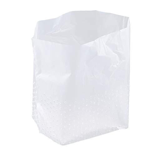 FBGood Drain Müllsack mit Löchern, Unabhängige Entwässerung Müllfilter für Küche Spüle Sieb Filterbeutel Müllsack Verhindern Verstopfung Netzfilter Beutel (Weiß -60pcs)