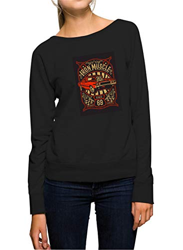 Certified Freak Iron Muscle Sweater Girls Black S -