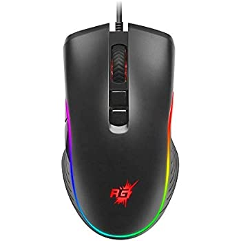 Redgear A-20 Gaming Mouse with RGB and Upto 4800 dpi for PC