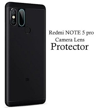 ikazen Rear Camera Lens Guard Flexible Glass Protector 9H Hardness with Free Installation Kit for Xiaomi Redmi Note 5 Pro