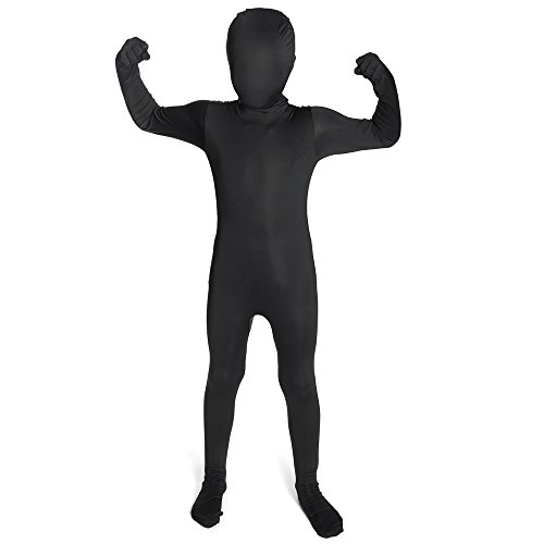 Schwarz Original Kinder Morphsuit Kinder - size Large 4'1-4'6 ()