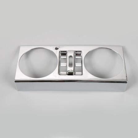 Duspper - ABS-Auto-Tür-Fenster-Lift-Schalter Knopf-Dekoration Rahmen Blende Für Jeep Wrangler 2007-2010 4 Türen Car Interior Styling [Silber] (Home Interior Rahmen, Dekorationen)