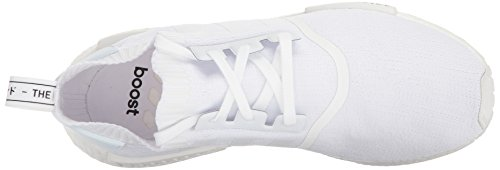 adidas NMD_r1 PK, Scarpe da Fitness Uomo Bianco (Ftwr White/ftwr White/ftwr White)