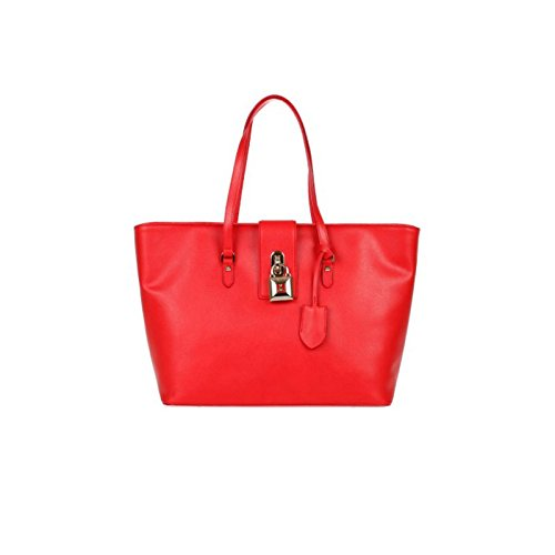 Patrizia Pepe 2v6066/at78 Shopper Accessori Pelle Rosso Rosso TU