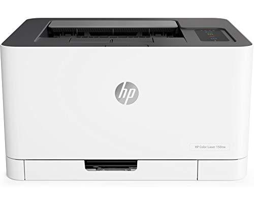 HP Color Laser 150NW Couleur 600 x 600 dpi A4 WiFi - Imprimantes Laser Couleur, 600 x 600 dpi, A4, 150 Feuilles, 18 ppm