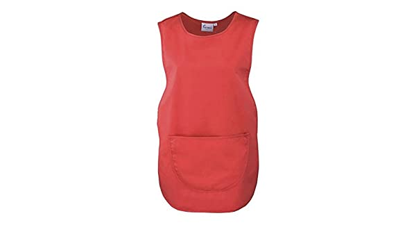 1 Ladies Plain Tabard Tabbard Apron Work Overall Grace All Sizes