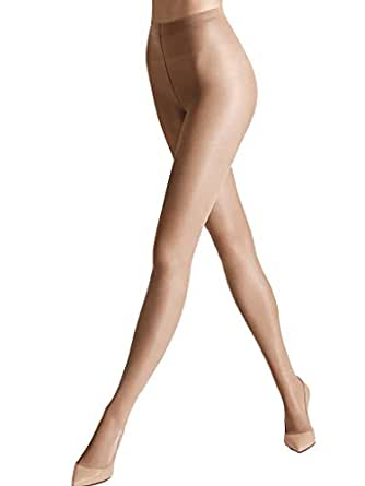 Wolford Satin Touch 20, Collants Femme, 20 DEN Beige (Brown Cocoa), XS