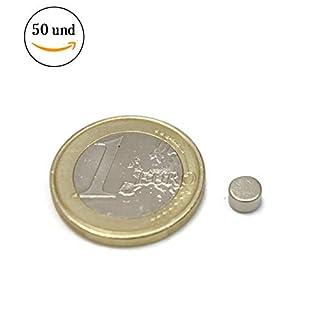 AimanGZ–50neodymium magnets Disc, dimensions 0.5x 0.3cm