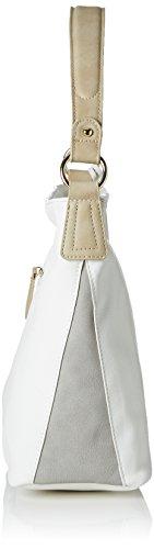 Rieker - H1303, Borse a spalla Donna Bianco