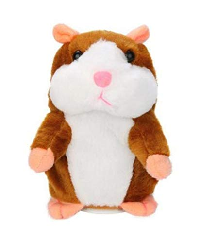Gift Talking Hamster Mouse Pet Plush Toy Learn To Speak Electric Record Hamster Educational Children Stuffed Toys C -