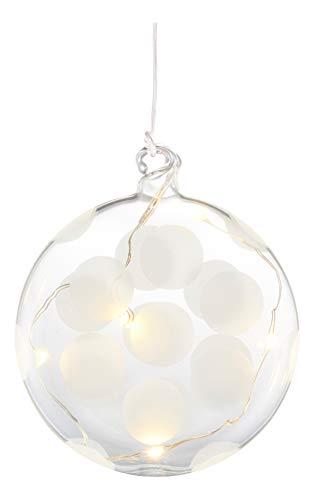 Sirius Home 68305 Light decoration figure Geeignet für den Innenbereich 5flammig LED klar - Dekoleuchte (5 Leuchten), LED, Light decoration figure, transparent, Glas, Batterie) -