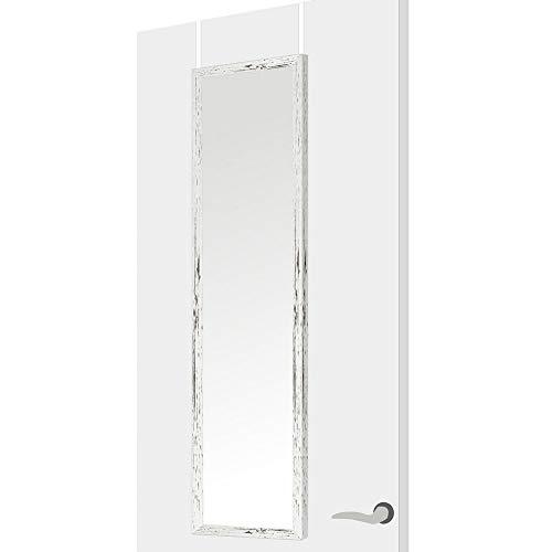 Lola Home 122552 Espejo de Puerta nórdico Blanco de plástico para Dormitorio,...