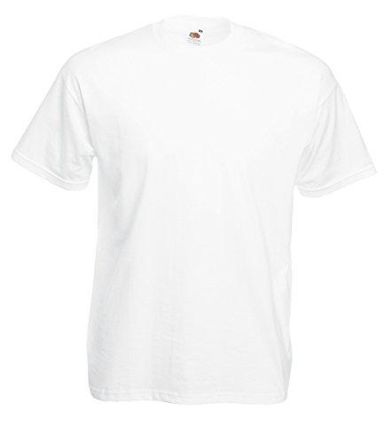 Tshirt Fruit of the loom maniche corte da uomo - Valueweight Short Sleeve 100% cotone - Tutte le taglie by tshirteria