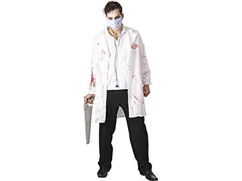 DISONIL Kostüm Verrückter Doktor Mann Größe