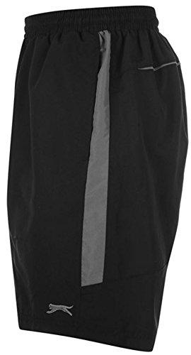 Slazenger Badeshorts Shorts Sporthose Kurzhose Bermuda Badehose Hose NEU new Schwarz