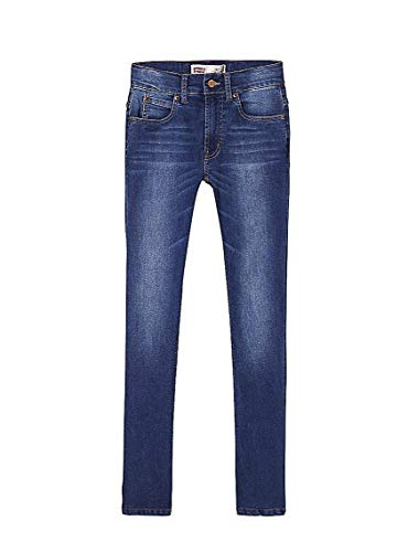 Jeans levis 511 indaco per bambino 10a blue