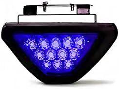 Speedwav 46195 Blue 12 LED Brake Light with Flasher for Maruti 800