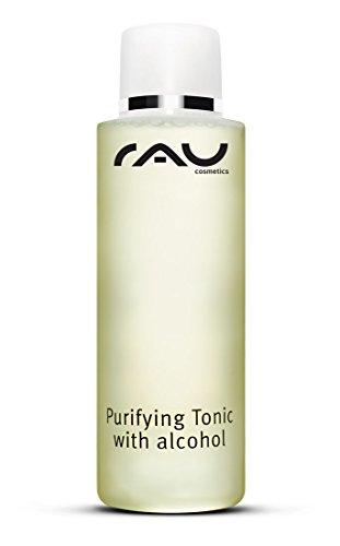 RAU Purifying Tonic with Alcohol (1 x 200 ml) - Entzündungshemmender Toner für Unreine und Fettige Haut - mit Zink, Urea & Kamille