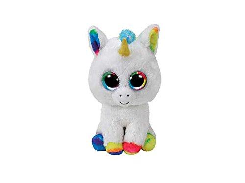 (Mobile Pixy Einhorn Plüsch 15cm TY Beanie Boos Spiel Spielzeug Geschenk # AG17)