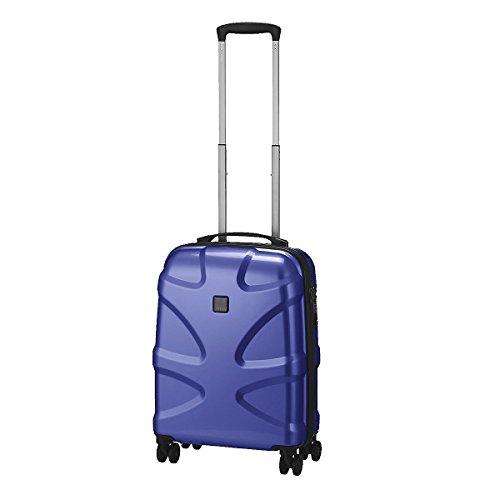 "TITAN Valise trolley ""X2"" avec 4 roues bleu foncé Koffer, 55 cm, 38 liters, Blau (Bleu Foncé)"