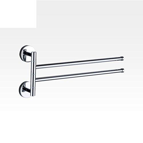 HCP Alle Kupfer aktiv Handtuchhalter/Rotierenden Stab/Die Par 3/Vier-Kinematik/Bad WC aus perforierten Handtuchhalter-A