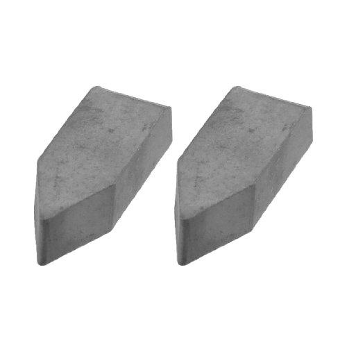 2PCS Hard Legierung verkittet Hartmetall fügt Cutter Tip Cutting Tool