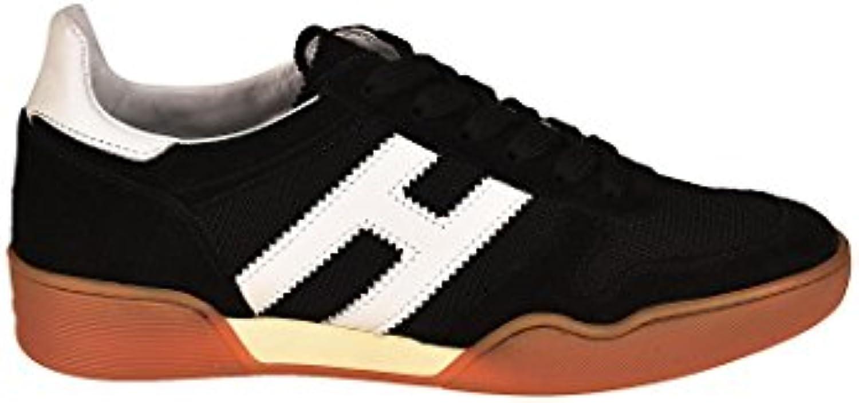 Hogan scarpe da ginnastica ginnastica ginnastica H357 Bianche e Nere HXM3570AC40IPJ0002 Nero Uomo | Qualità Primacy  340b91